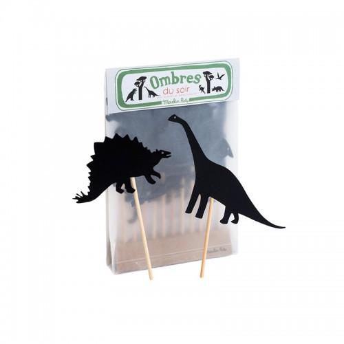 Juego de Sombras Dinosaurios