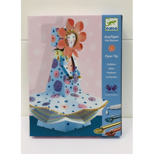 Arty paper Miss Blossom