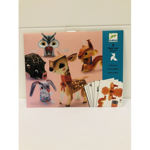 Paper toys. Animales
