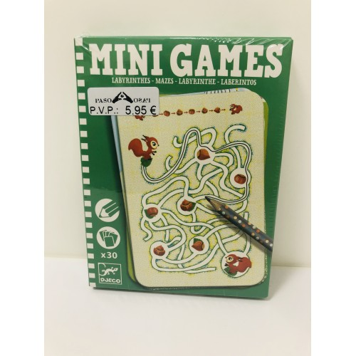 Mini games Laberintos