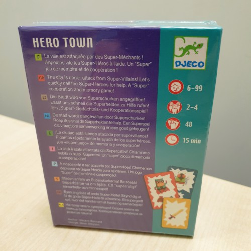 Cartas Hero Town