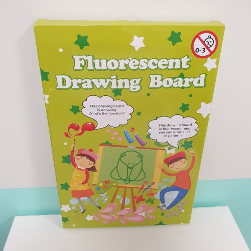 Fluorescent Drawing Board A4