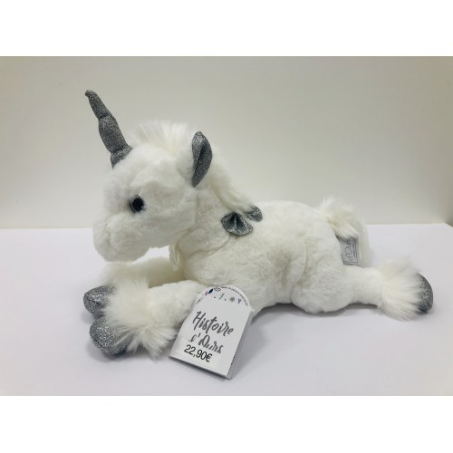 Unicornio Plata