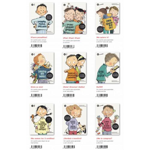 Colección adelante 8 cuentos para niños/as con los que aprender sobre situaciones conflictivas