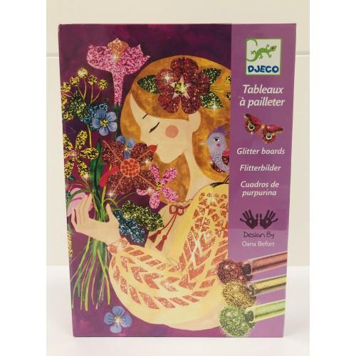 Cuadros de purpurina El perfume de las flores