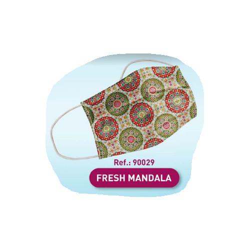 Mascarilla higiénica adulto mandala