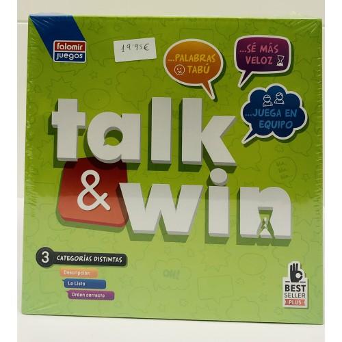 Talk & win