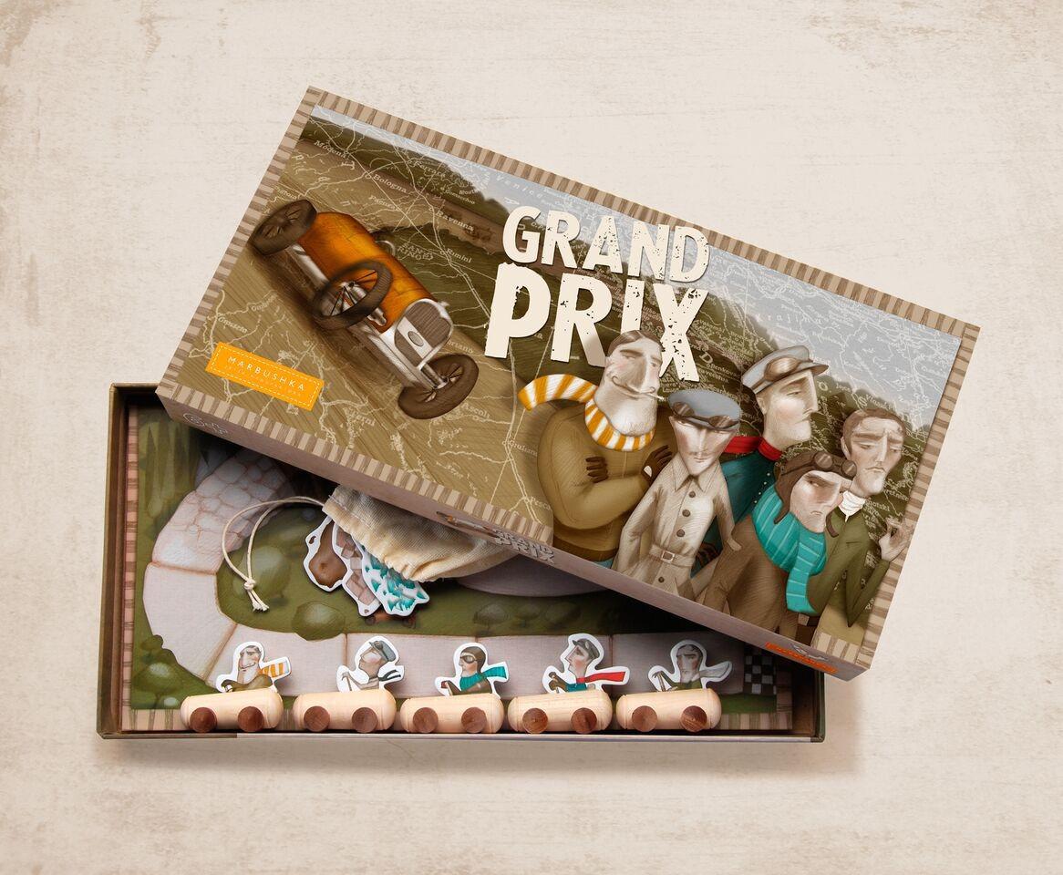 Juego Marbushka Grand Prix